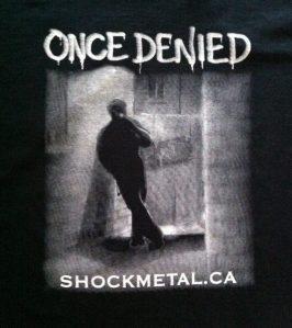 Shock's CD - Once Denied